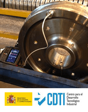 SPMRail: Equipo Portátil de Medida de Tensiones Residuales en Ruedas de Ferrocarril