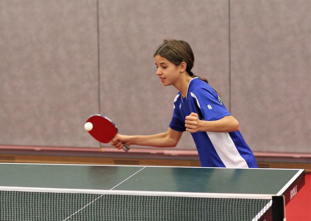 Aude Balanche aux championnats suisses Jeunesse