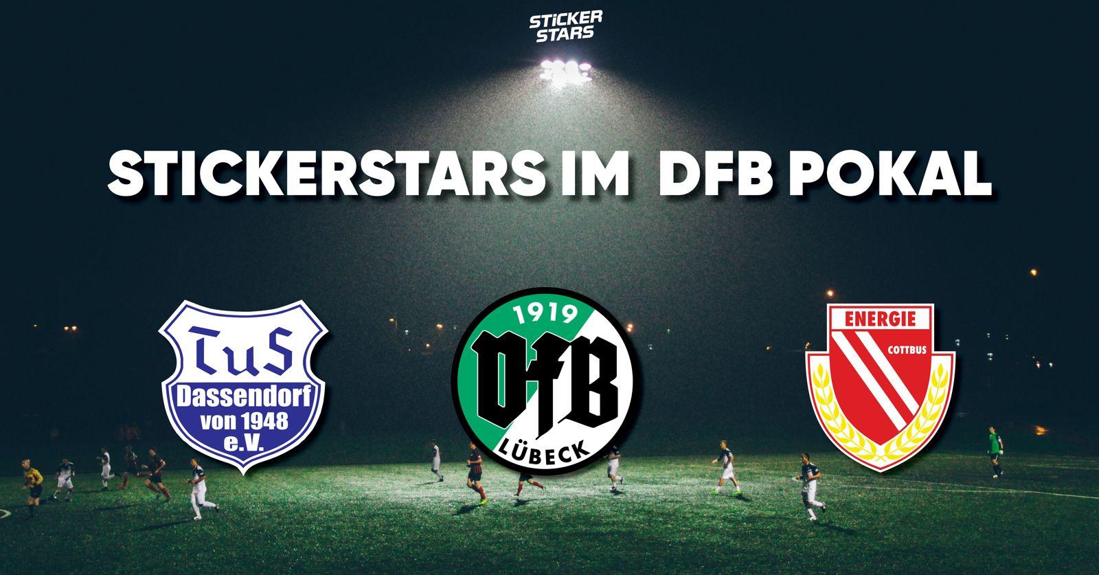Stickerstars-Vereine im DFB Pokal