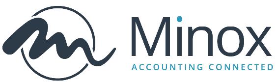Logo van boekhoudsoftware Minox