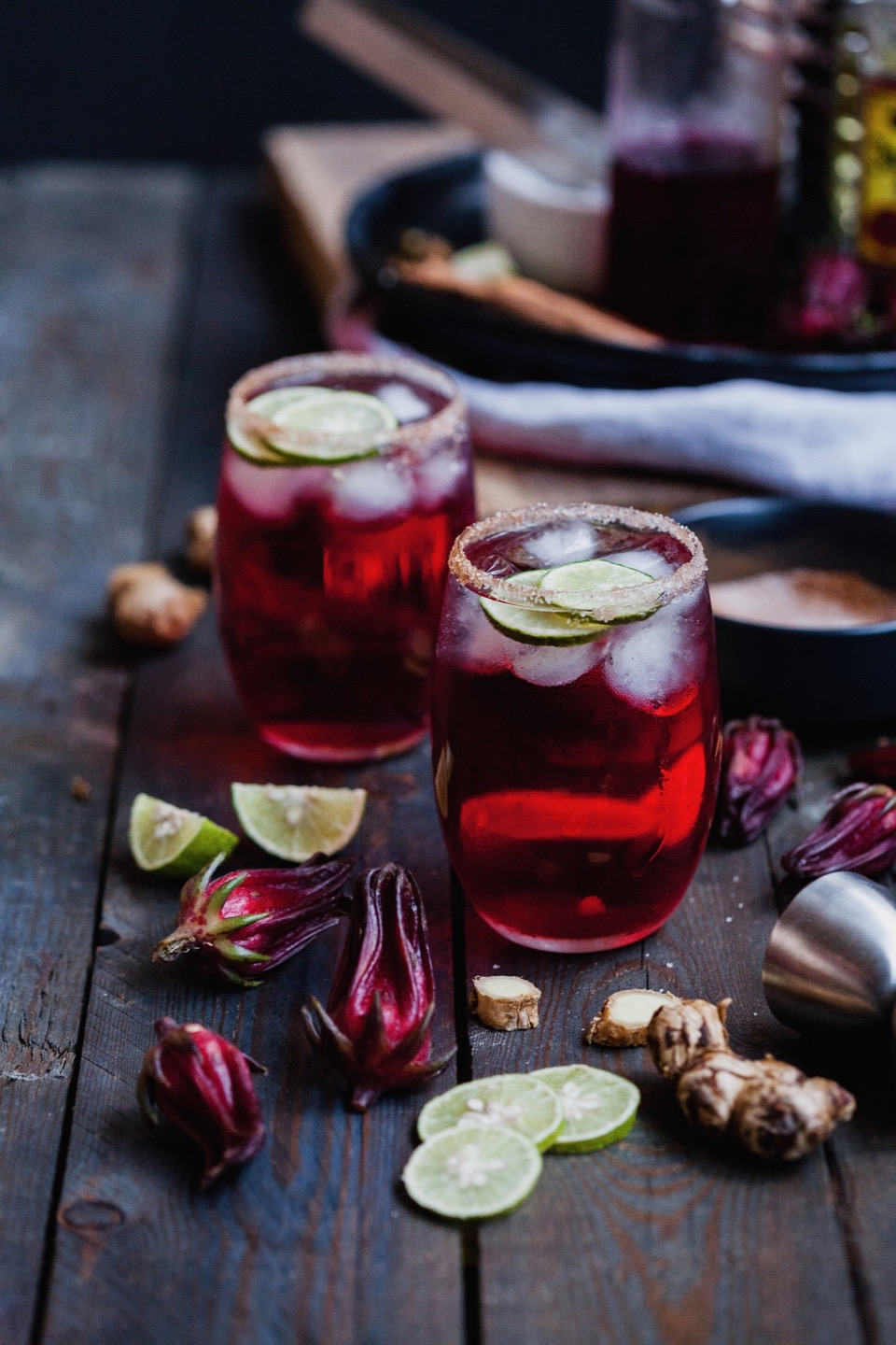 Winter Hibiscus Margarita