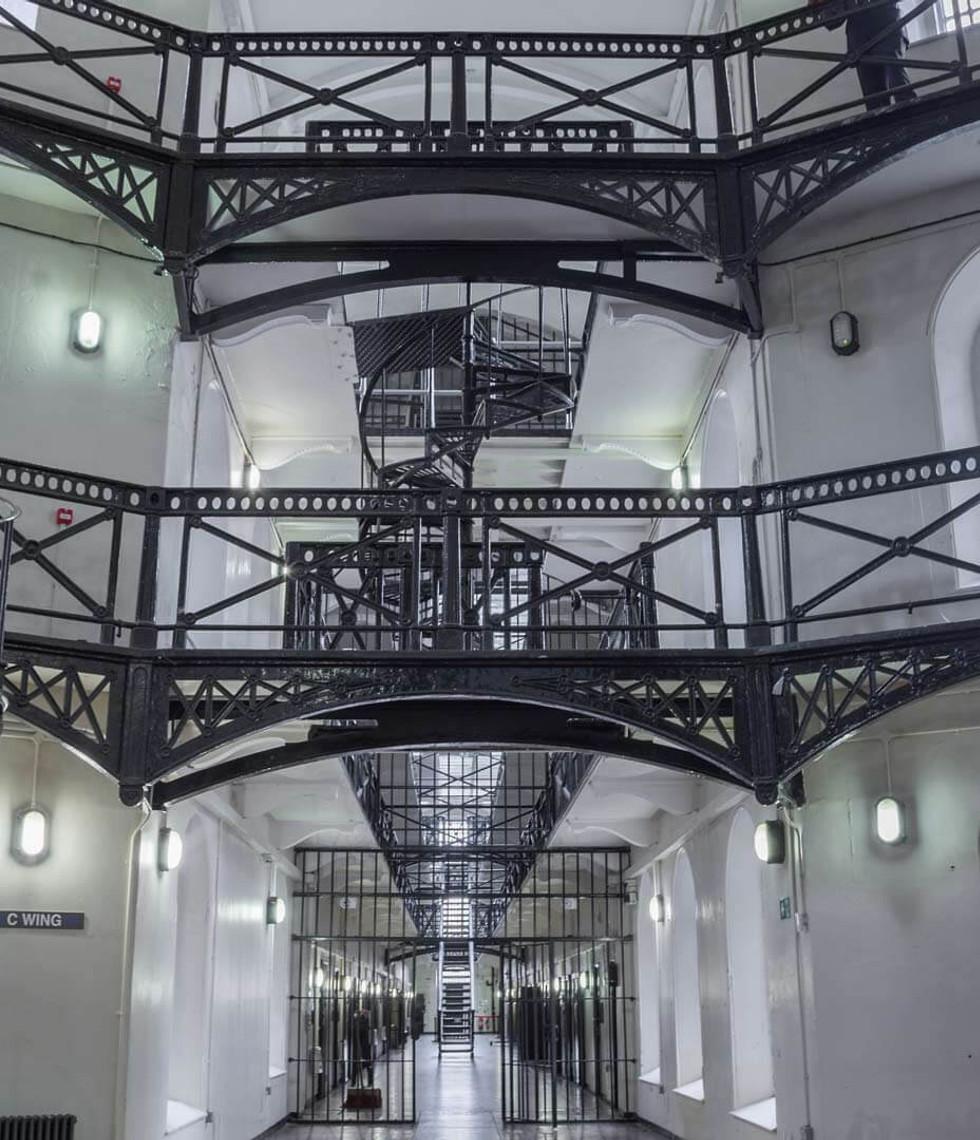 Inside Crumlin Road Gaol
