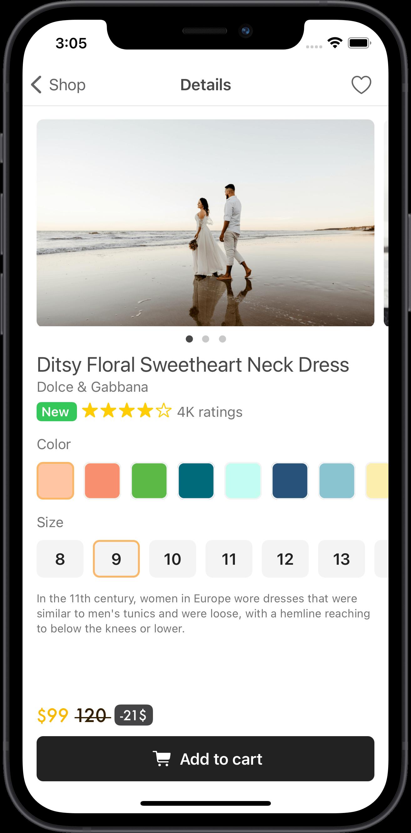 e-commerce, women, dress
