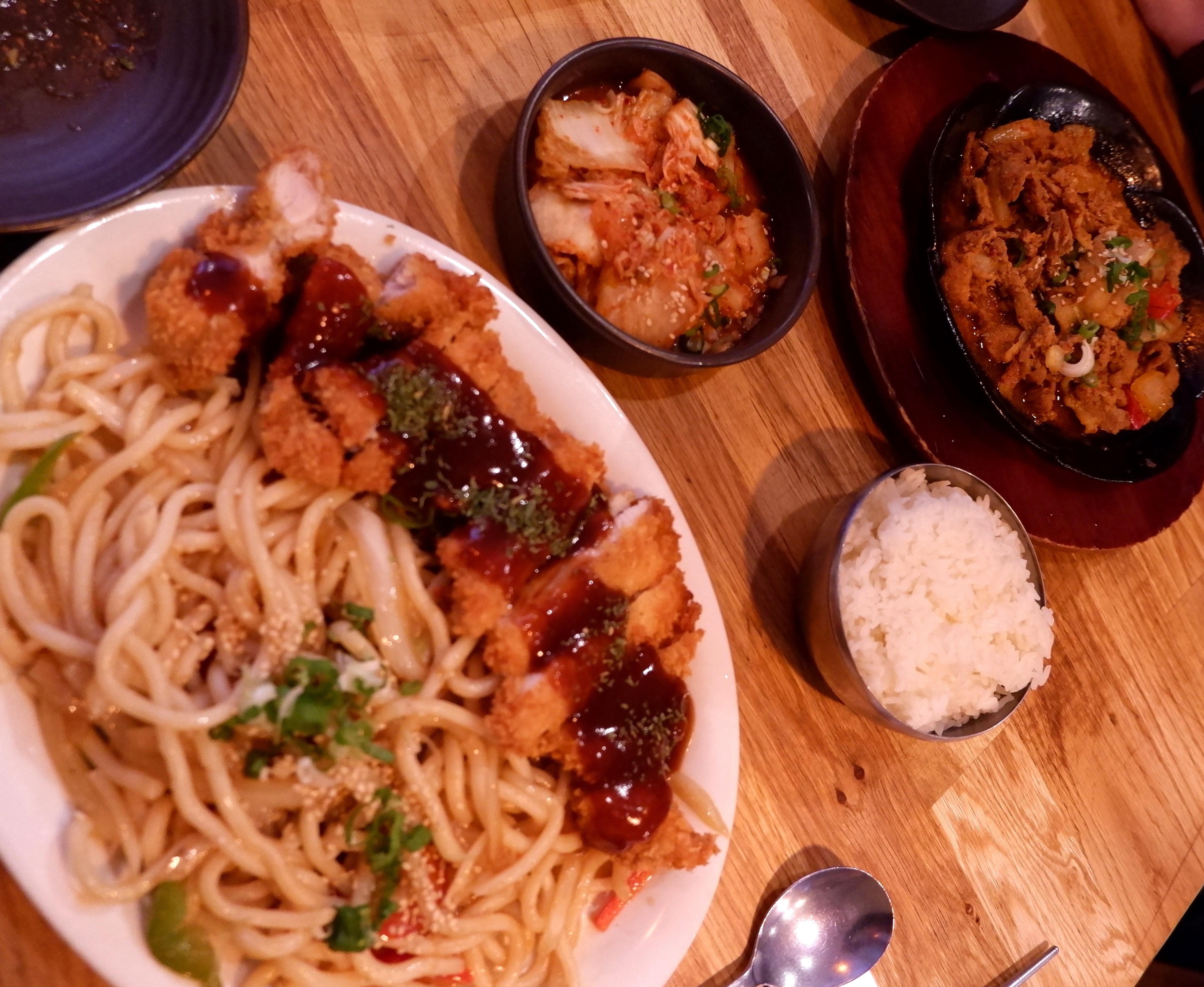 Heerlijk Koreaans eten!