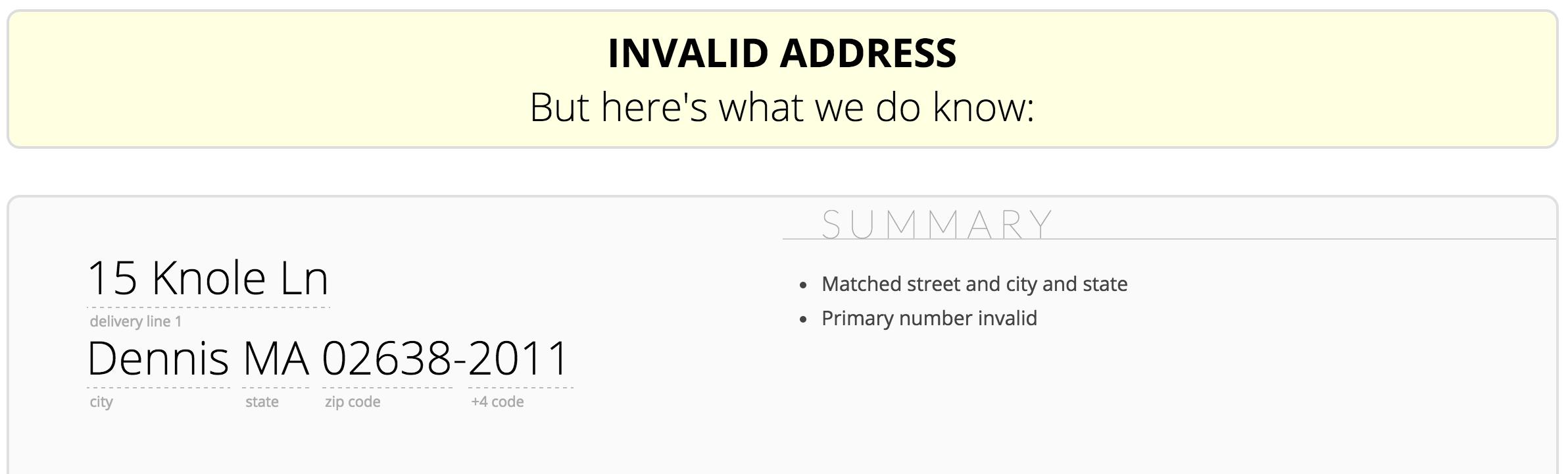 Google Address Validation