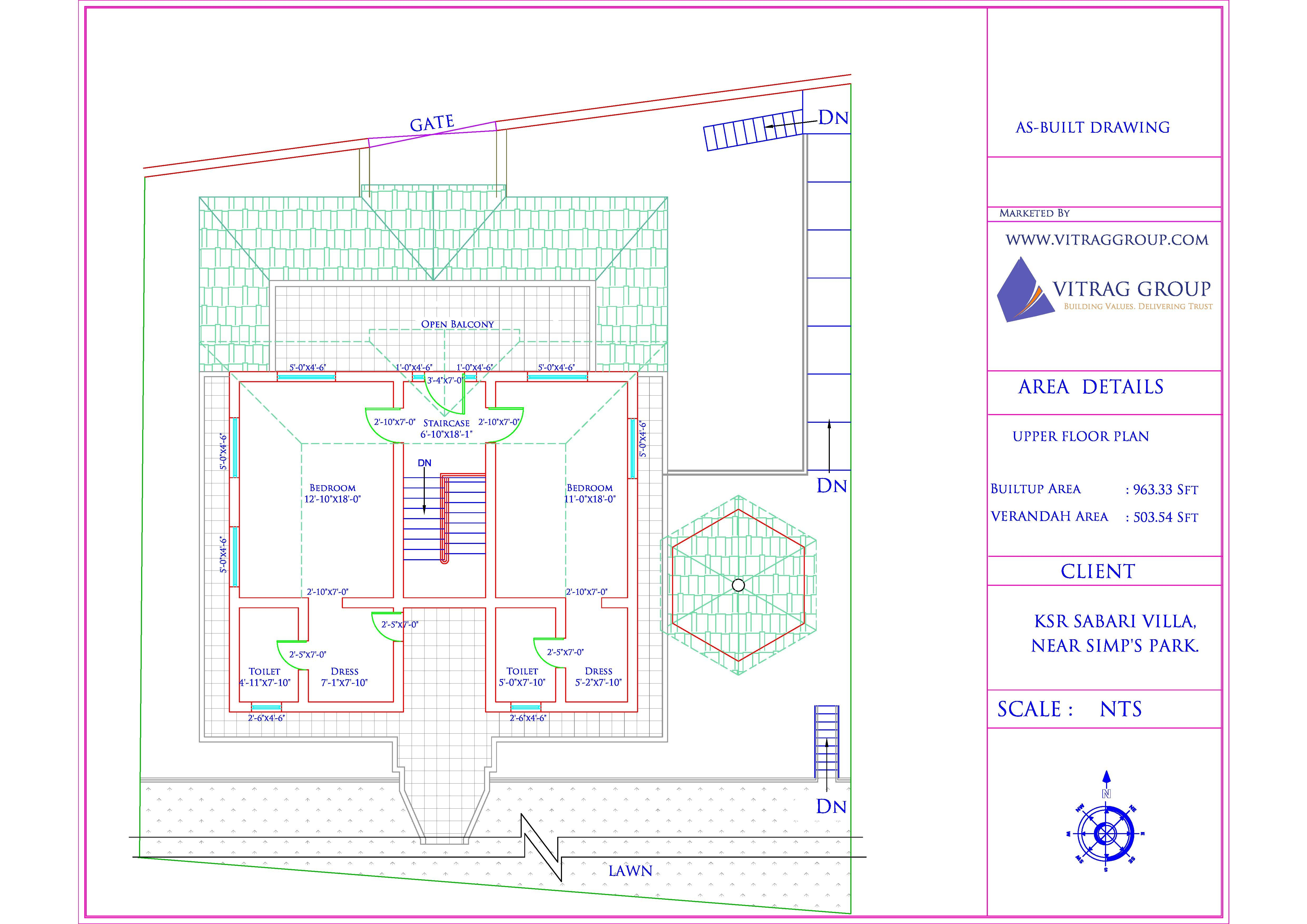 KSR Sabari - First Floor