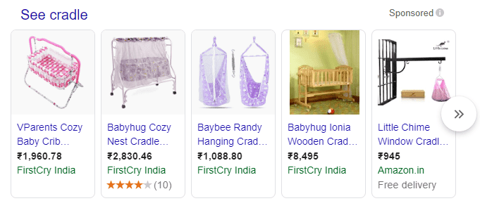 4 google shopping ads example