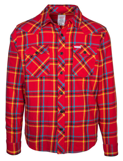 Topo Designs Men's Plaid Mountain Shirt