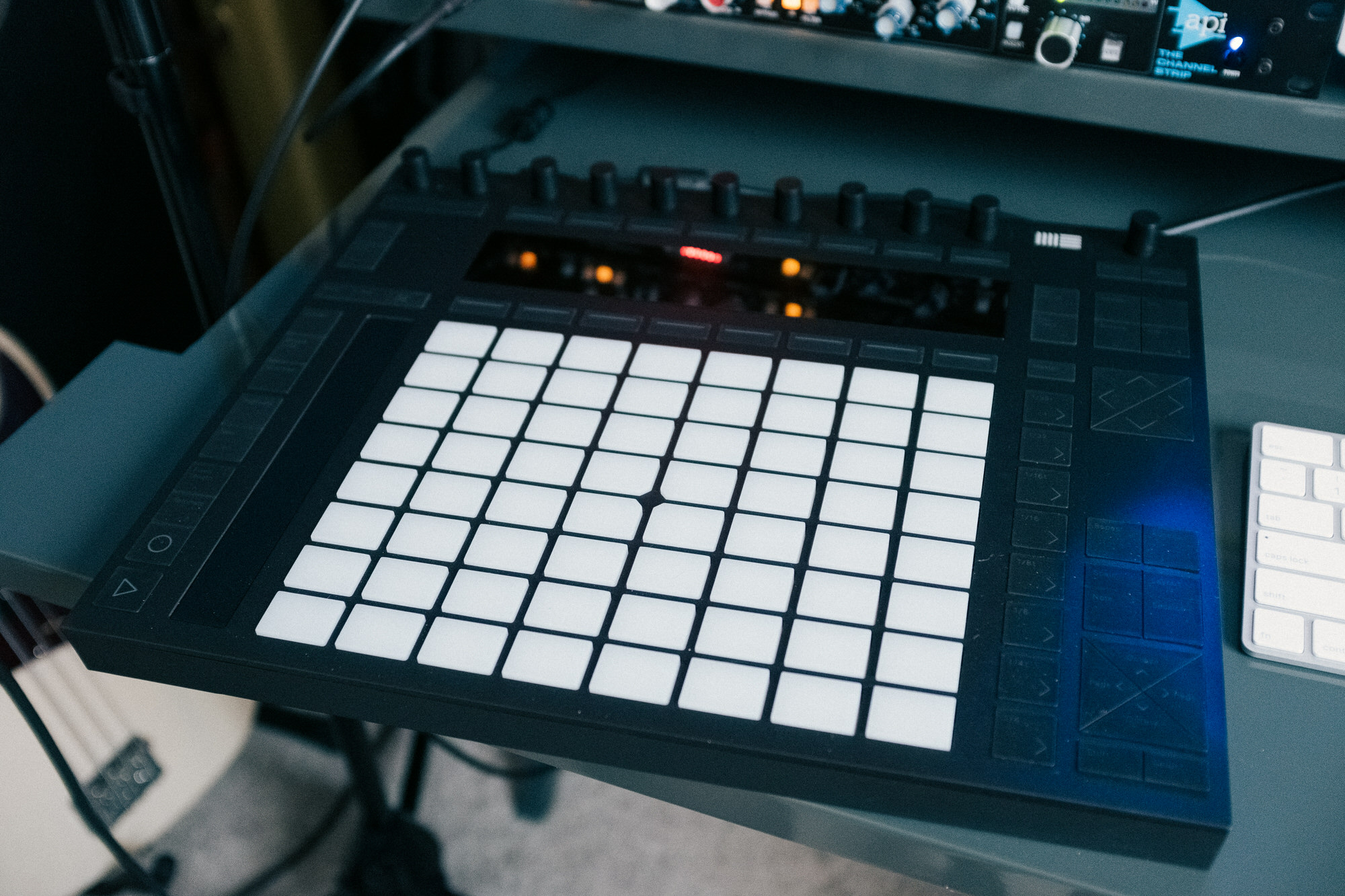 An image of the Ableton Push 2.