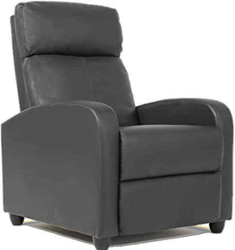 Wingback Leather Recliner Chair