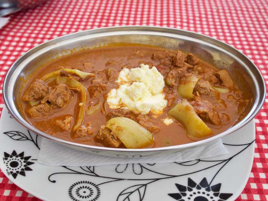 Bosnian meat stew