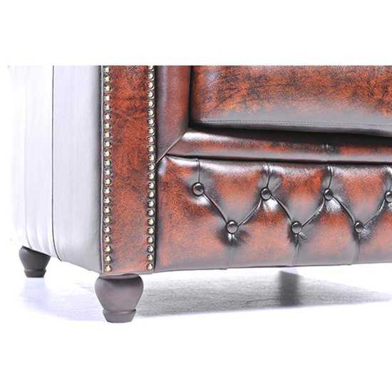 The Original Chesterfield Brighton 3zitsbank Zetel Salon Antiek Bruin 550x550 Antiek bruin