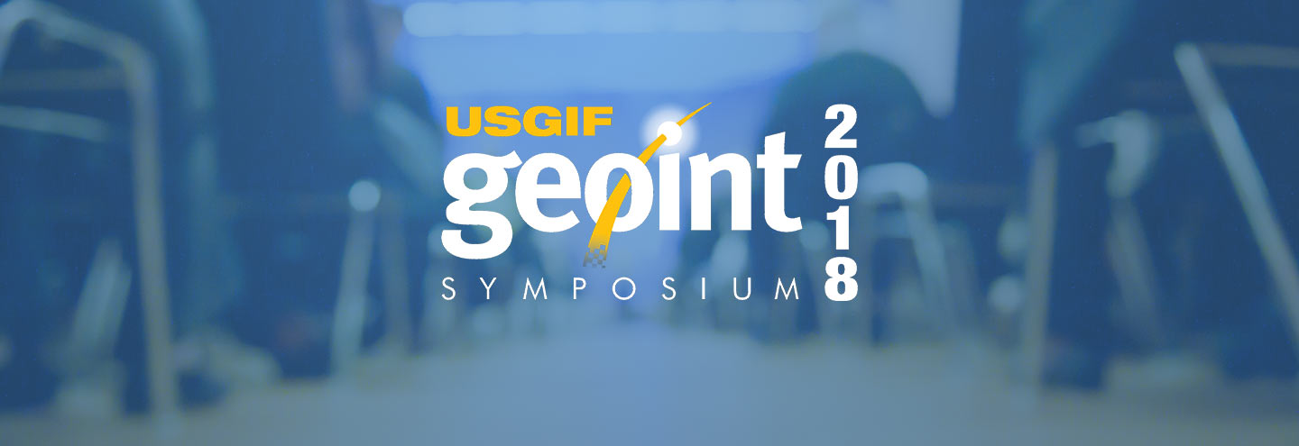 Fulcrum at GEOINT 2018 in Tampa