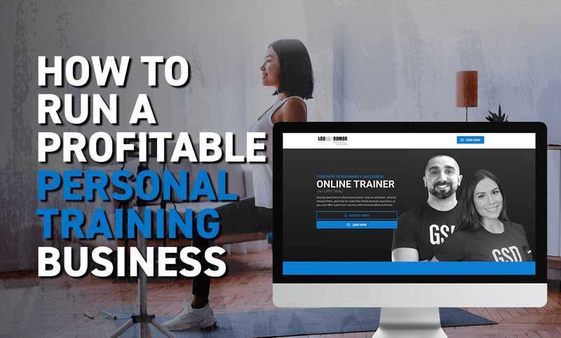 How to run a profitable personal training business