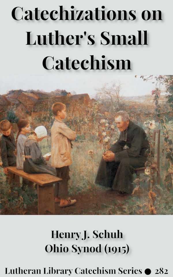 Catechizations on Luther's Small Catechism by Henry Jacob Schuh