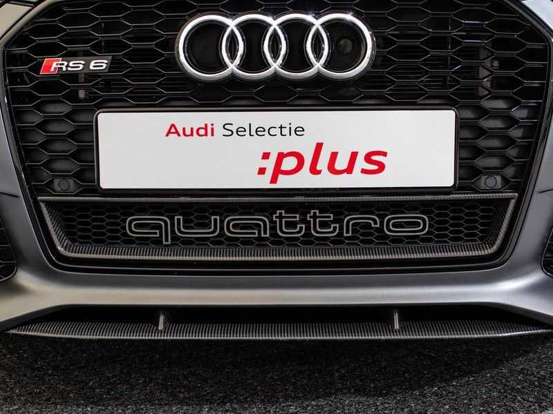 Audi A6 Avant 4.0 TFSI RS6 quattro perfomance | Dynamiekpakket plus | Carbon Optiek | B&O advanced | RS-sportuitlaat | DAB+ | Head-up display | Alcantara Hemel | Pano dak | Nachtzicht | afbeelding 21