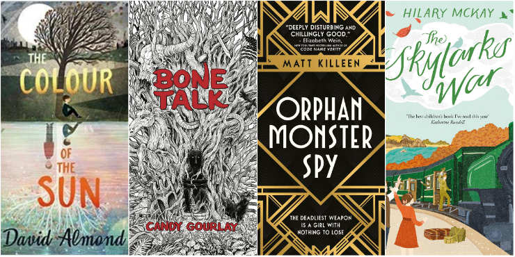 The Colour of the Sun, Bone Talk, Orphan Monster Spy, The Skylarks' War