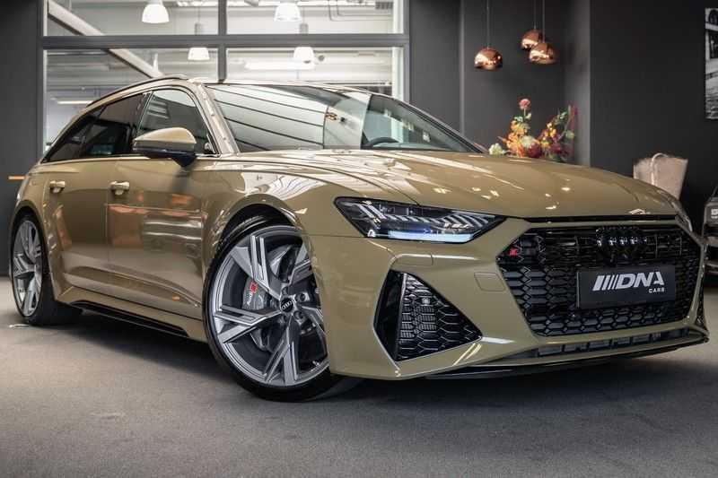 Audi RS6 Avant Exclusive Keramisch Akrapovic B&O High End RS 6 TFSI quattro afbeelding 1