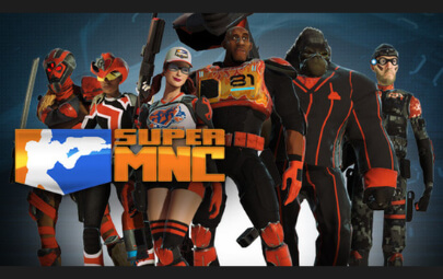 Super Monday Night Combat Cover Graphic