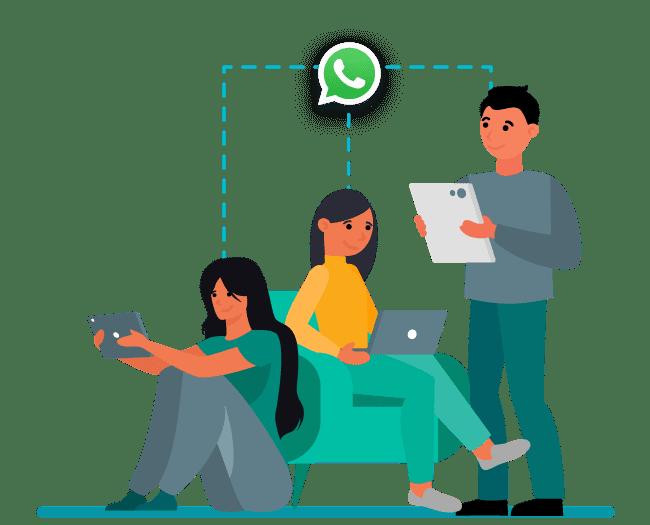 Todo tu equipo en una sola línea de WhatsApp