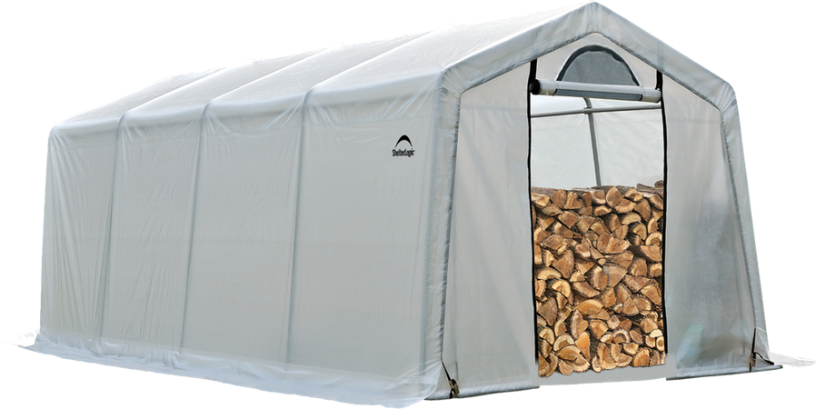 10x20x8 Seasoning Shelter