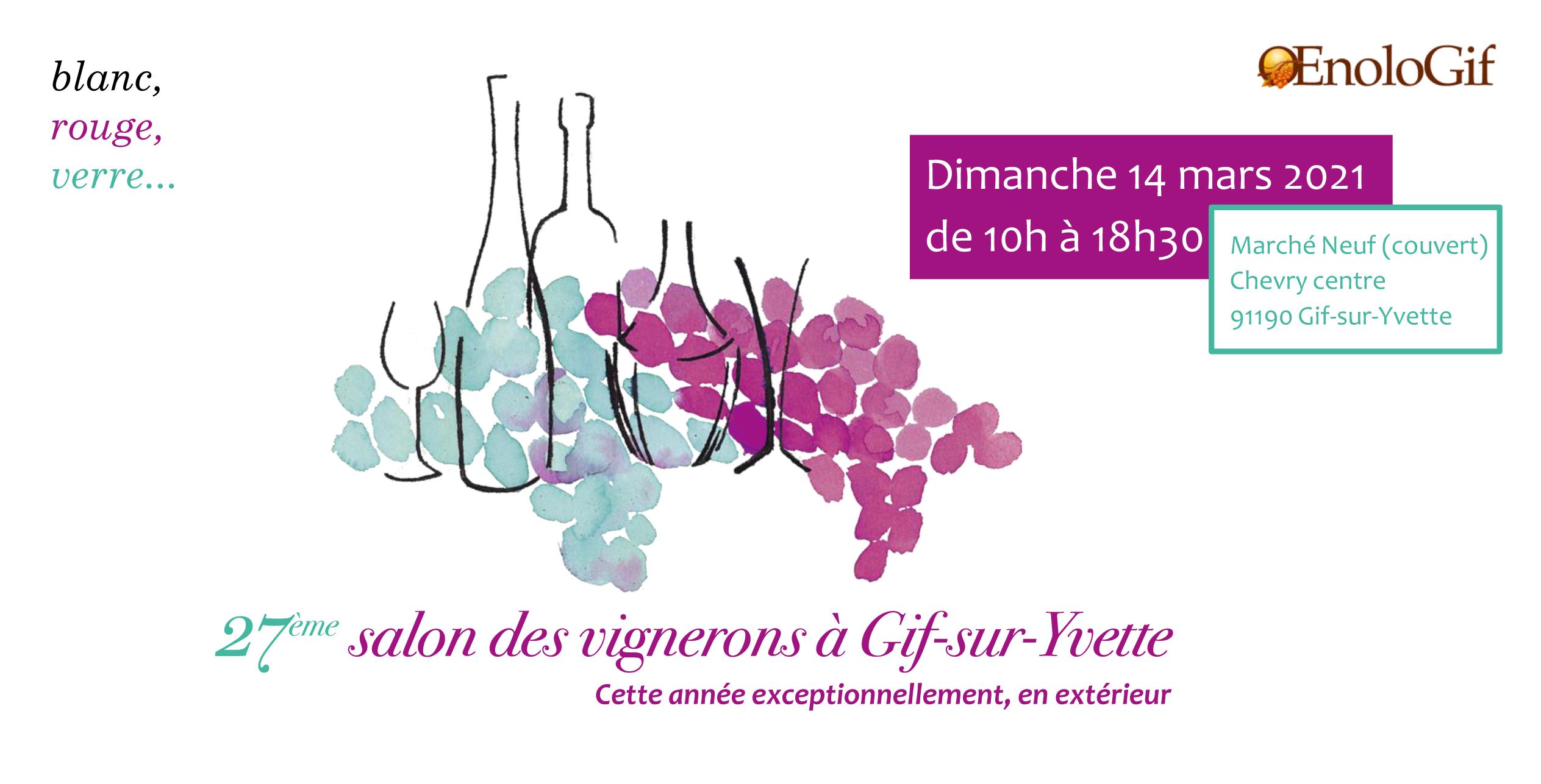 Domaine Gayrard au Salon des vignerons à Gif sur Yvette