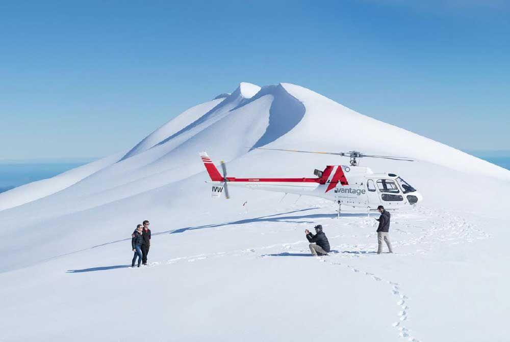 Scenic Glacier Heli Flights