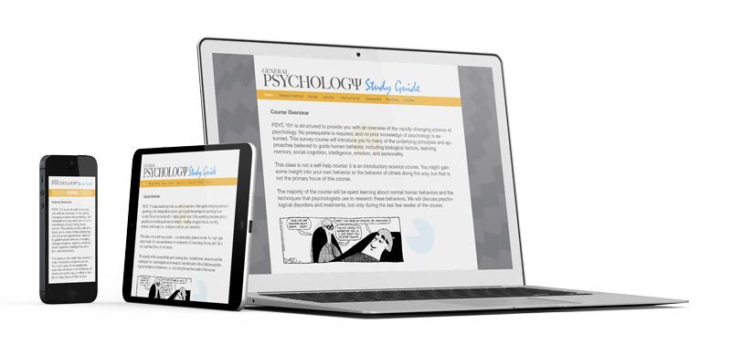 General Psychology Web Design