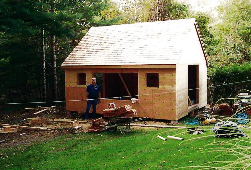 Shed Blakewood Construction 02