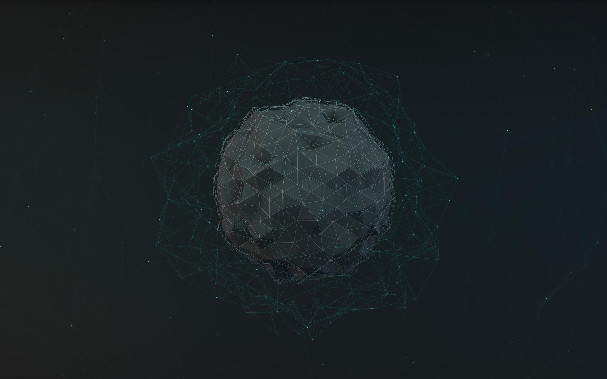 Imagem de um globo com diversas linhas conectadas, como um mundo conectado via servidores Git
