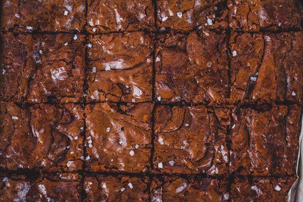 Chocolate Hazelnut Espresso Brownies