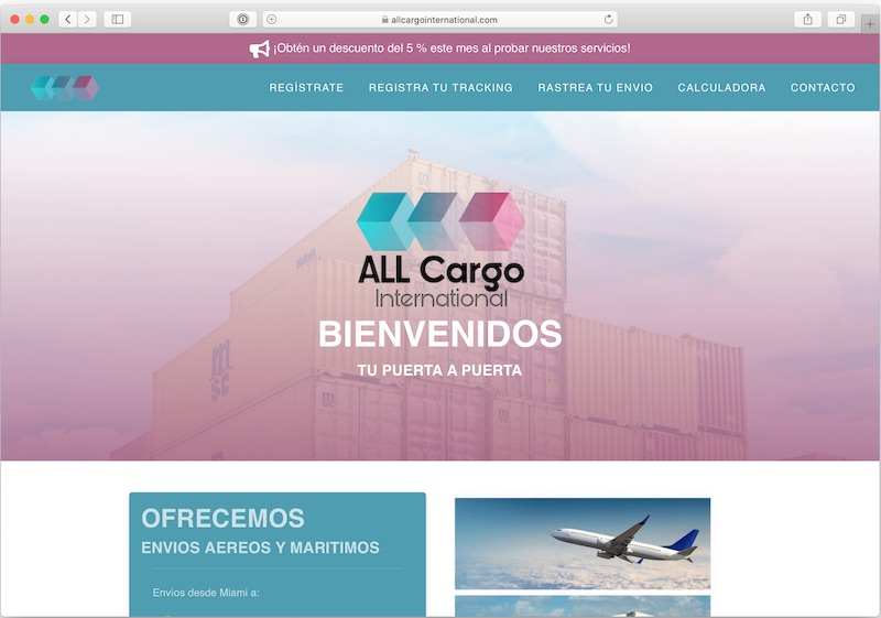 allcargointernational.com