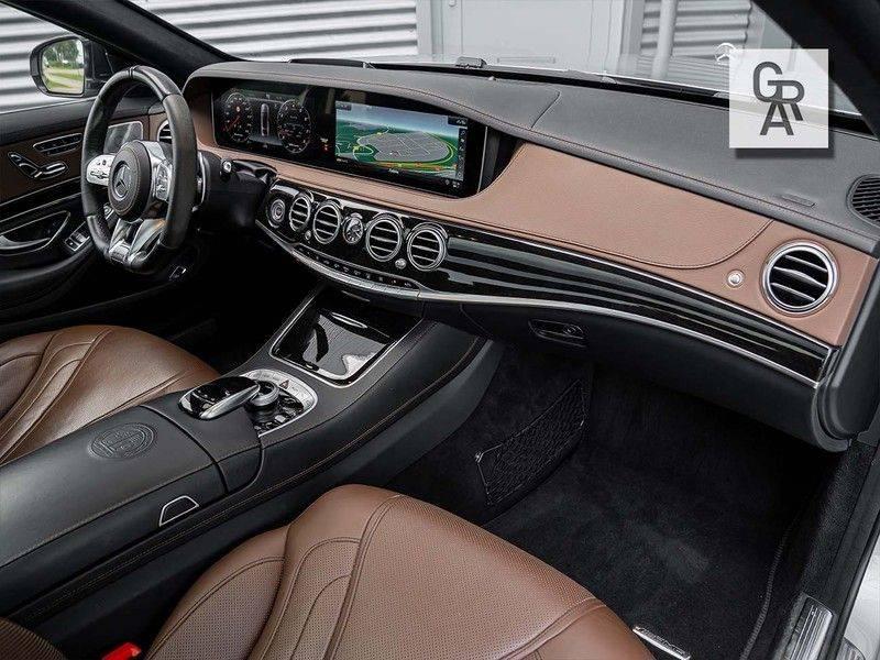 Mercedes-Benz S63-klasse 4Matic Lang 63 AMG 4Matic+ Lang Premium Plus afbeelding 14