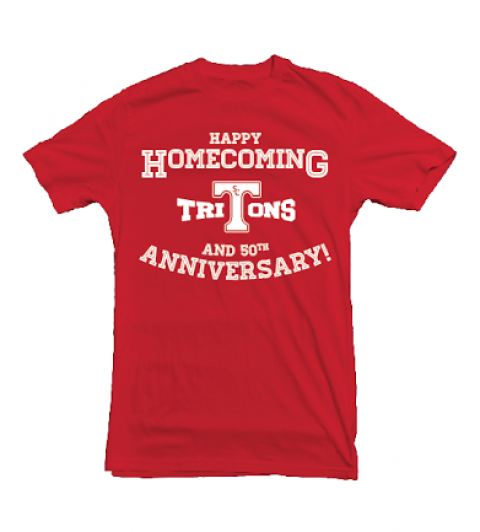 Free Limited Edition 50th Anniversary SCHS shirts at Friday's Homecoming game