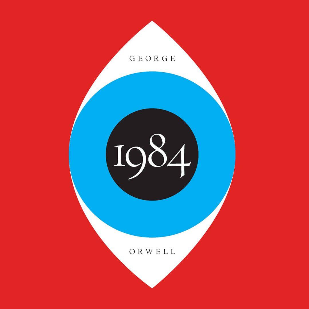 Иллюстрация собложки «1984». Фото: bookbub.com