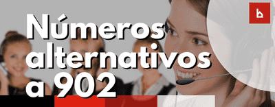 Listado de Teléfonos alternativos a los 902 de aseguradoras