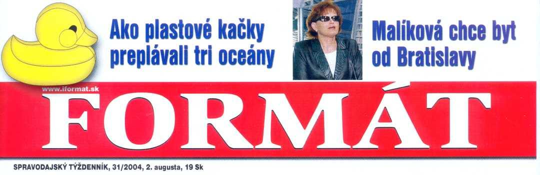 Obálka týždenníka Formát č. 31/2004