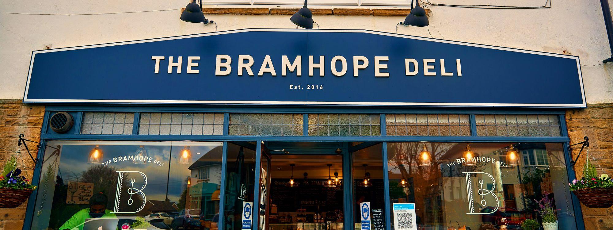 Outside of Bramhope Deli