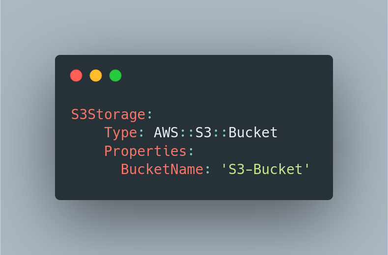 S3 Bucket on CloudFormation example