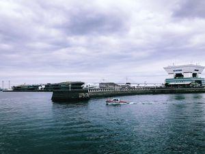 Yokohoma port in Japan