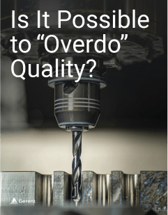 """Is It Possible to """"Overdo"""" Quality? Cover"""