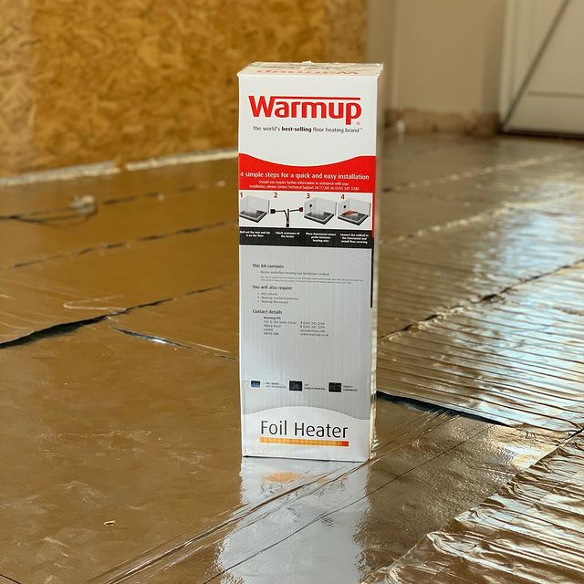 Warmup underfloor heating