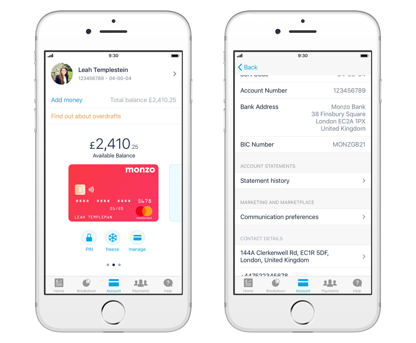 how to get a bank statement from monzo monzo