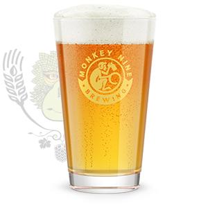Rendering of Monkey 9 Primate Pale Ale Beer