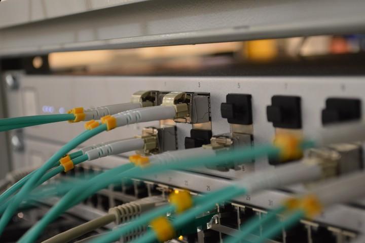 A Unifi 10G Fiber Switch