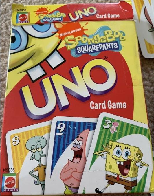 SpongeBob Squarepants Uno (2008)