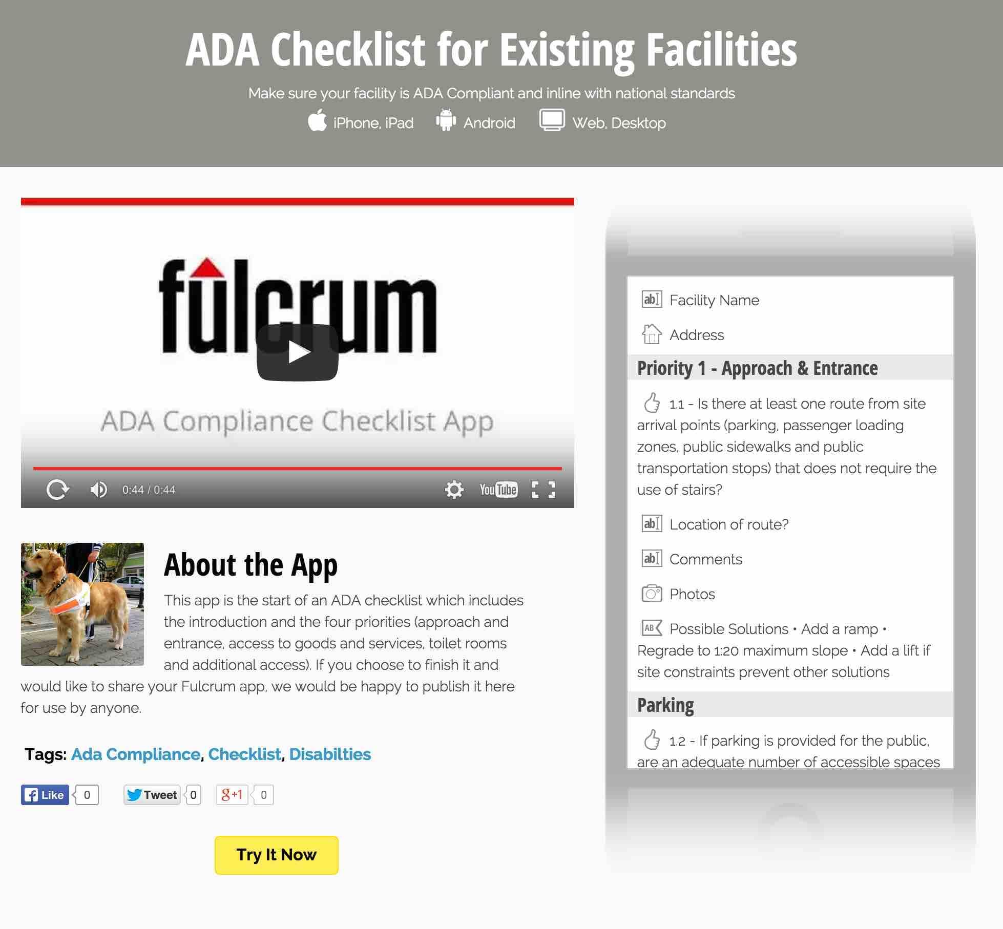 Fulcrum App Builder