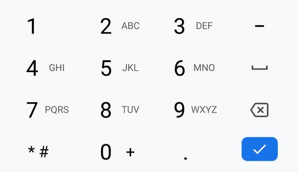 a06phone pad