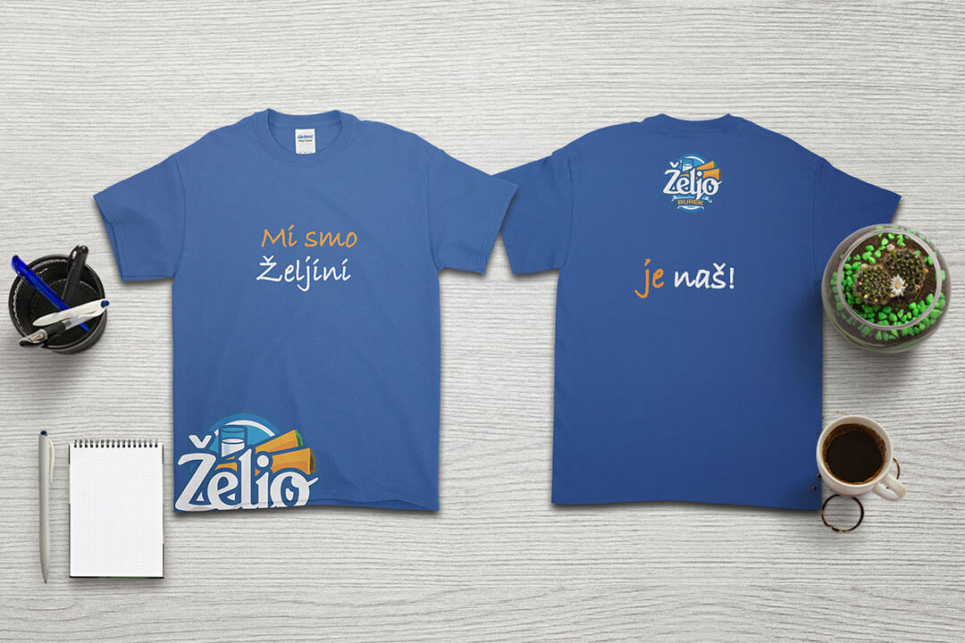 Project Željo Grill Burek, T-shirt, Graphic Design