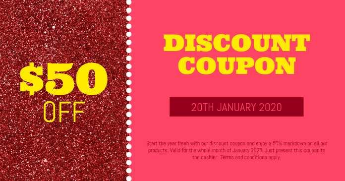 Offering discount coupon
